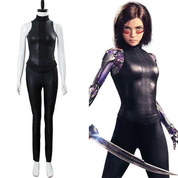 Alita: Battle Angel Costume Alita Cosplay Costume
