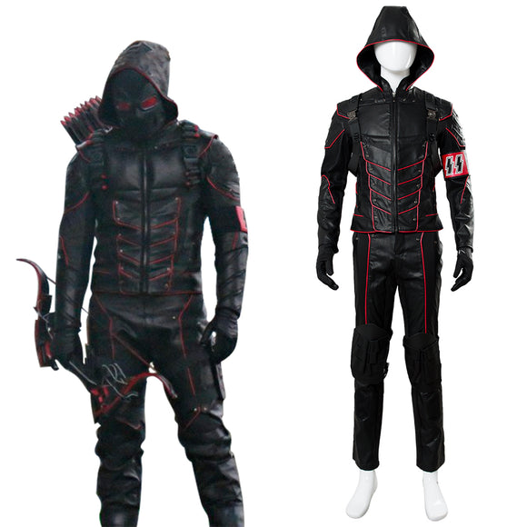 Arrow 6 Earth X Dark Arrow Cosplay Costume