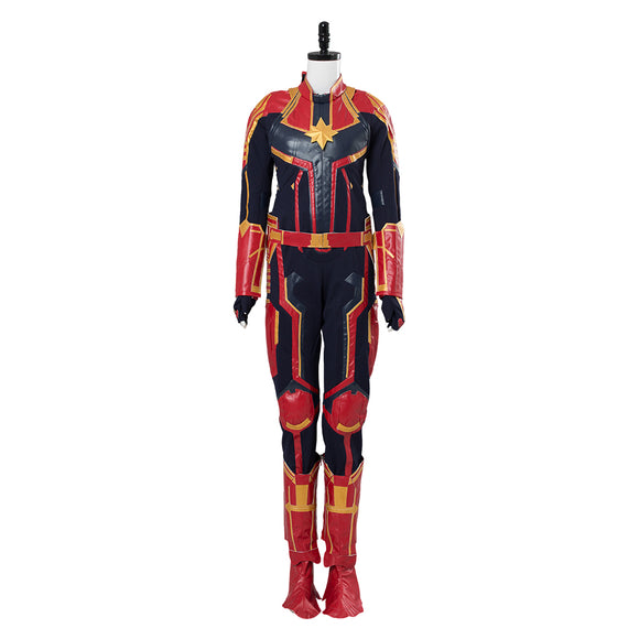 Avengers Ms. Marvel Carol Danvers Cosplay Costume