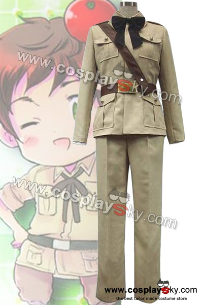 Axis Powers Hetalia Antonio Fernandez Carriedo Uniforme Cosplay Costume