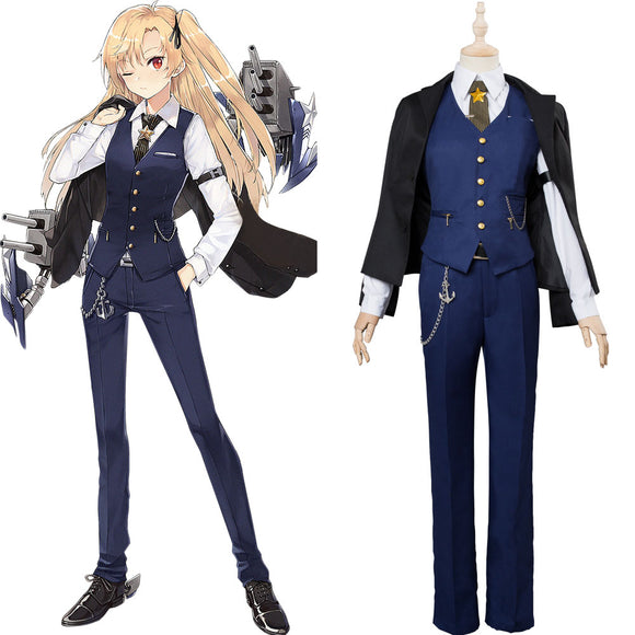 Azur Lane Cleveland Cosplay Costume