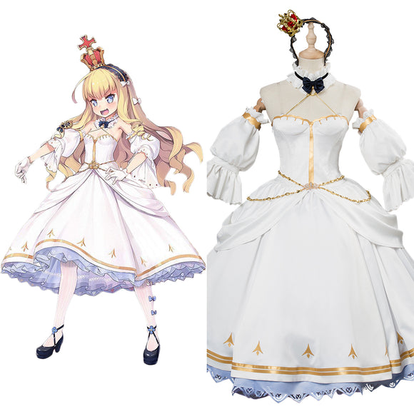 Azur Lane Queen Elizabeth Cosplay Costume