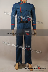Battlestar Galactica William Adama Uniforme Cosplay Costume
