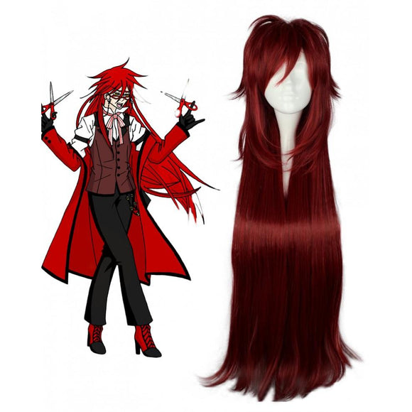 Black Butler Grell Sutcliff Cosplay Perruque