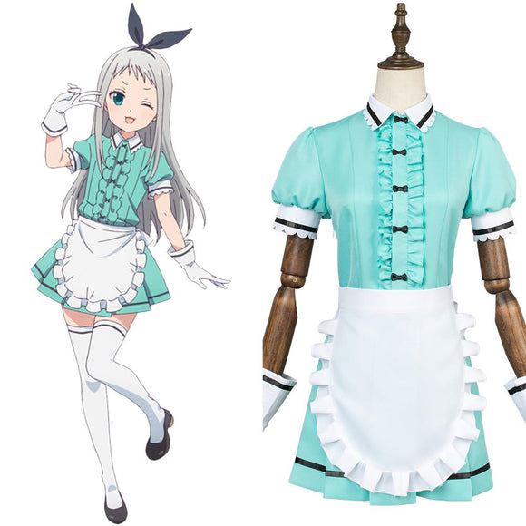 Blend·S Hideri Kanzaki Maid Suit Dress Cosplay Costume