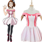 Boku no Hero Academia The Movie - Futari no Hero Uraraka Ochako Cosplay Costume