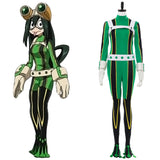 Boku no Hero Academia Tsuyu Asui Cosplay Costume