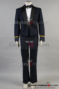 Aviation royale canadienne Winter Mess Uniforme Masculin Cosplay Costume