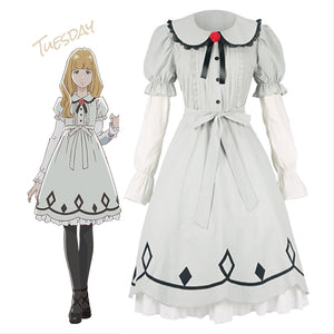 Carole & Tuesday Tuesday Lolita Robe Cosplay Costume