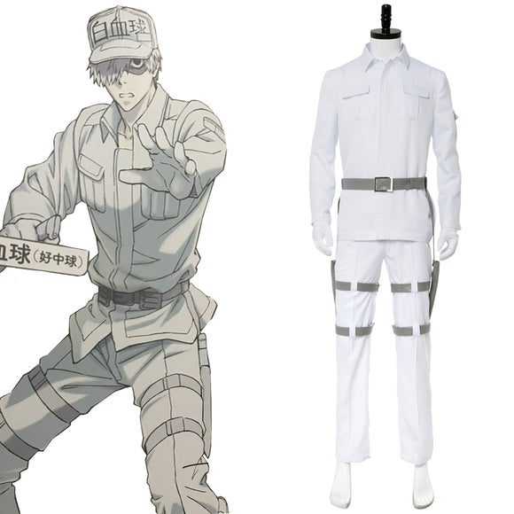 Cells at Work! Neutrophil Cosplay Costume