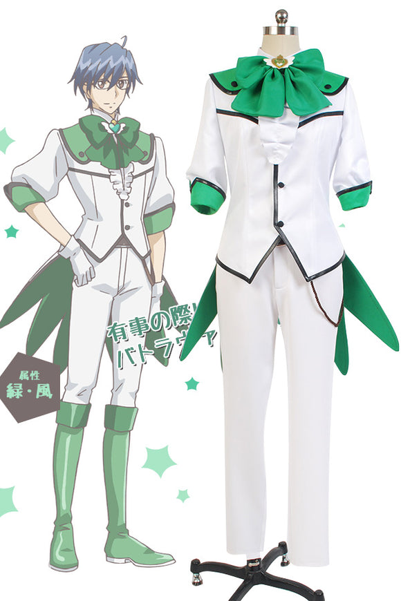 Cute High Earth Defense Club LOVE! Defense Club Atsushi Kinugawa Uniforme Cosplay Costume