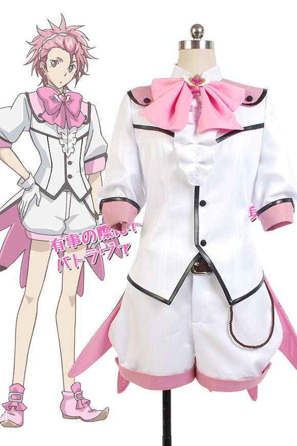 Cute High Earth Defense Club LOVE! Defense Club Ryū Zaou Uniforme Cosplay Costume