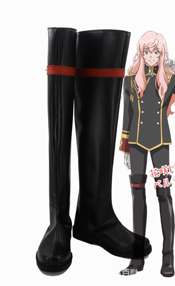 Cute High Earth Defense Club Love! Conquest Club Akoya Gero Botte Cosplay Chaussures