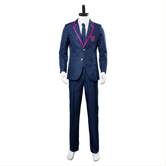 Deadly Class Uniforme Scolaire Homme Cosplay Costume