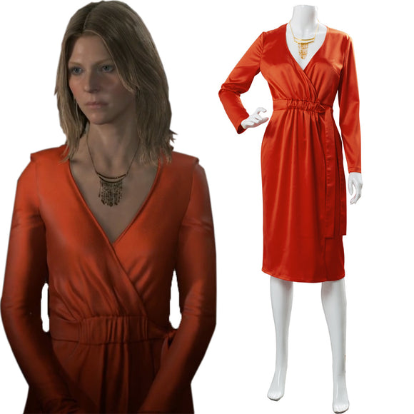 Death Stranding Amelie Robe Cosplay Costume