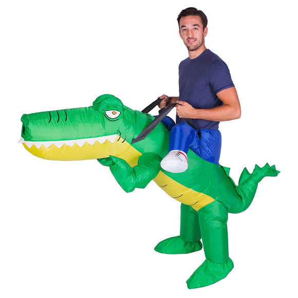 Combinaison Gonflable Taille d'Adulte Costume Crocodile Costume