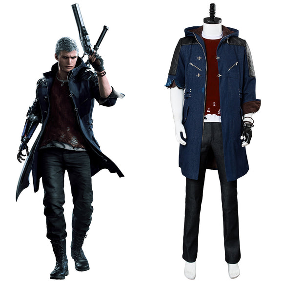 Devil May Cry 5 Nero Cosplay Costume Ver B