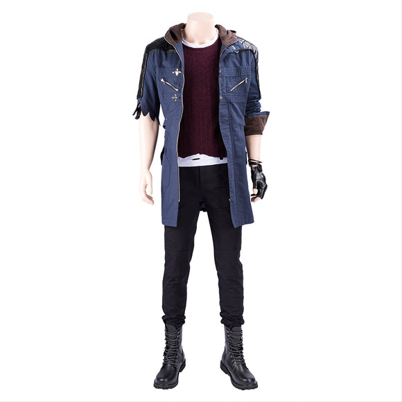 Devil May Cry V DMC 5 Nero Costume Complet Cosplay Costume