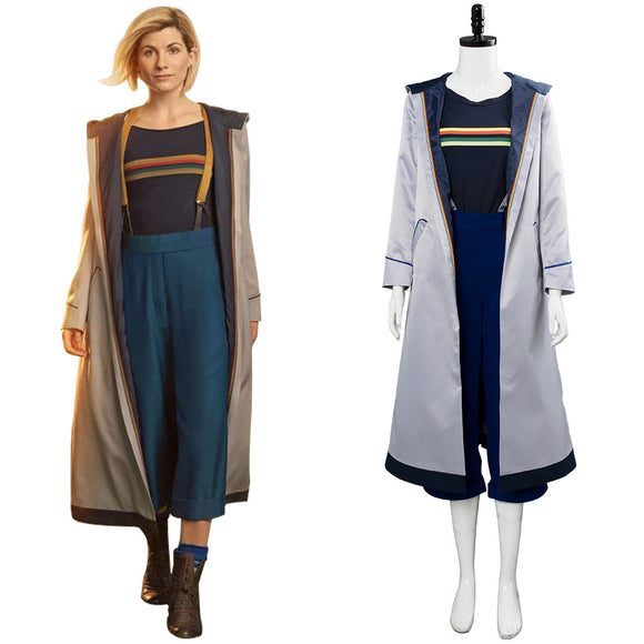 Doctor Who 13 Doctor Jodie Whittaker Cosplay Costume
