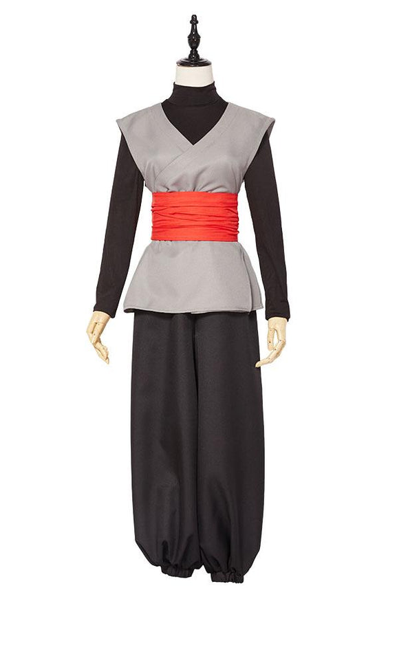 Dragon Ball Super Black Son Goku Cosplay Costume