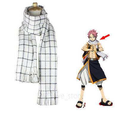 Fairy Tail Natsu Dragneel Echarpe  Cosplay Accessoire