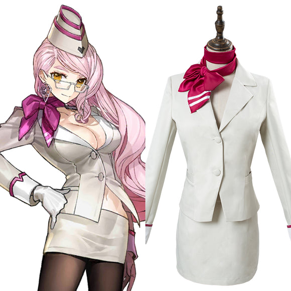 Fate Grand Order Tamamo no Mae Koyanskaya Cosplay Costume