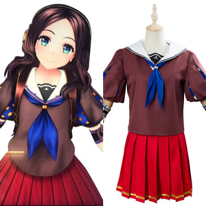 Fate Grand Order Da Vinci-chan Cosplay Costume