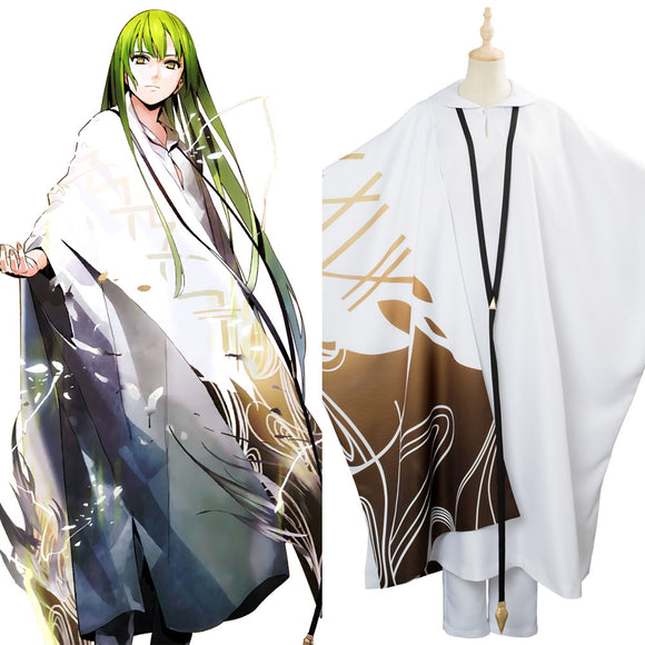 Fate Grand Order Enkidu Cosplay Costume