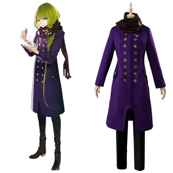 Fate Grand Order Enkidu Costume D'hiver Cosplay Costume