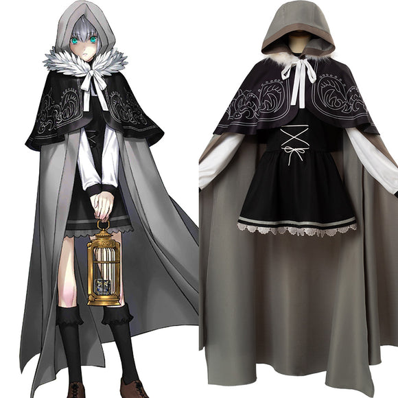 Fate Grand Order FGO Gray Cosplay Costume