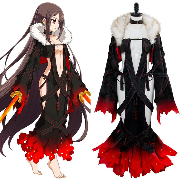 Fate Grand Order Yu Mei Ren Cosplay Costume