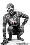 Spider-Man Lycra  Costume Collant  Noir
