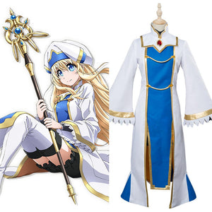 Goblin Slayer Prêtresse Onna Shinkan Cosplay Costume