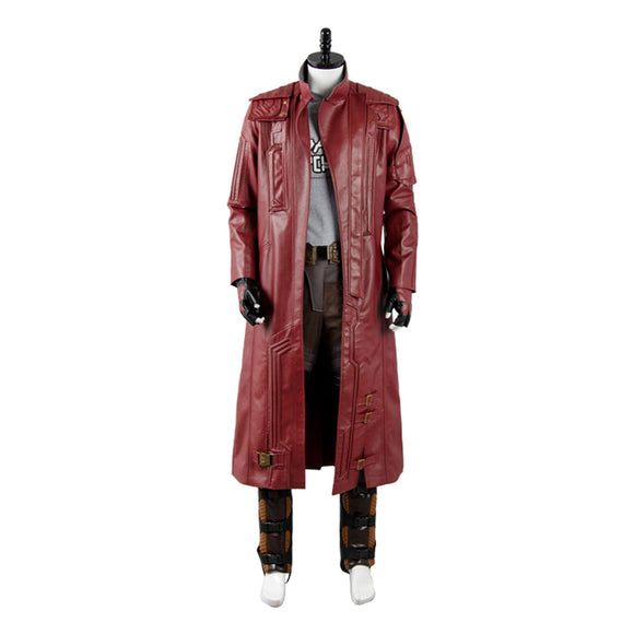 Guardians of the Galaxy 2 Chris Pratt Starlord Seulement Manteau Cosplay Costume