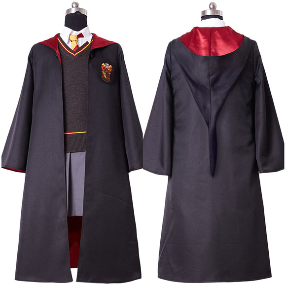 Harry Potter Hermione Granger Cosplay Costume Version D'enfant Gryffindor Uniforme Fille