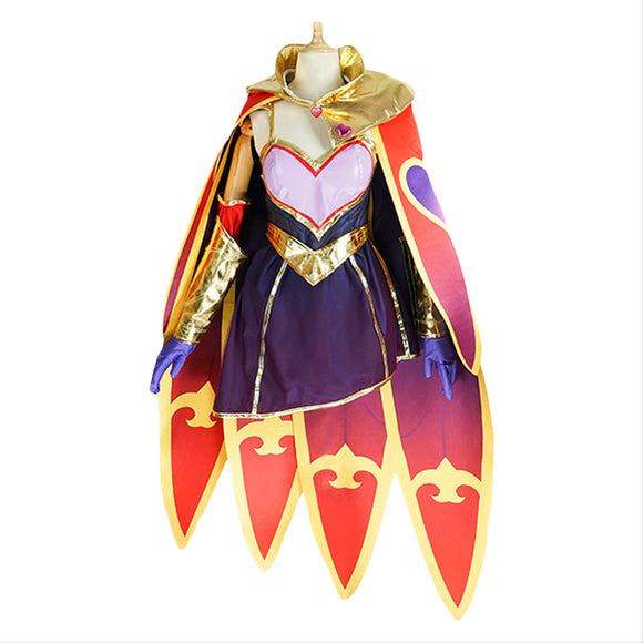 LOL League of Legends Sweetheart Xayah Cosplay Costume