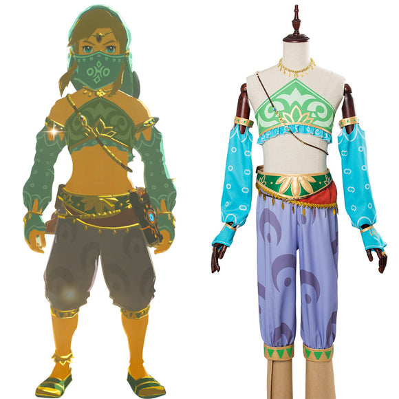 The Legend Of Zelda : Le Souffle de la Nature Cosplay Costume