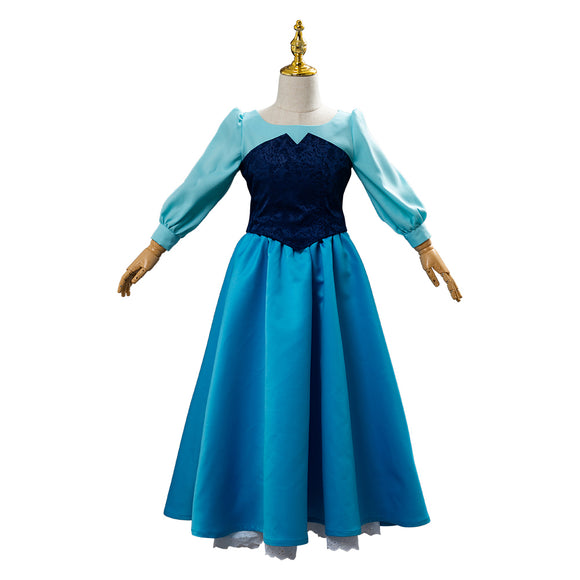 La Petite Sirène Little mermaid Ariel Robe Enfant Cosplay Costume