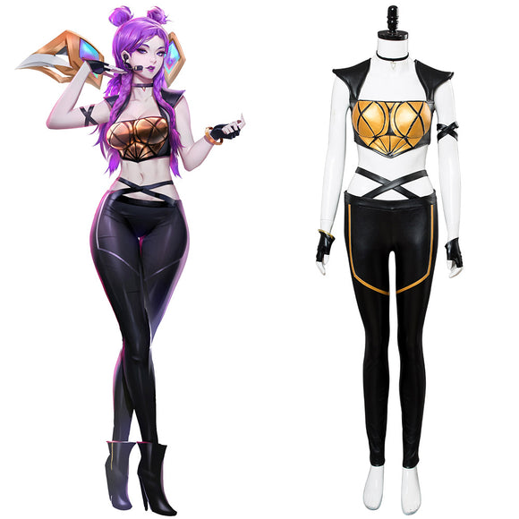 League of Legends LOL K/DA Kai'Sa Kaisa Cosplay Costume