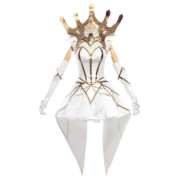 LoL League of Legends Lux Luxanna Crownguard Cosplay Costume