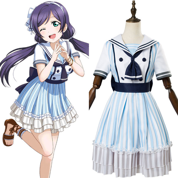 Love Live ! Lovelive Umi Sonoda Pirate Cosplay Costume
