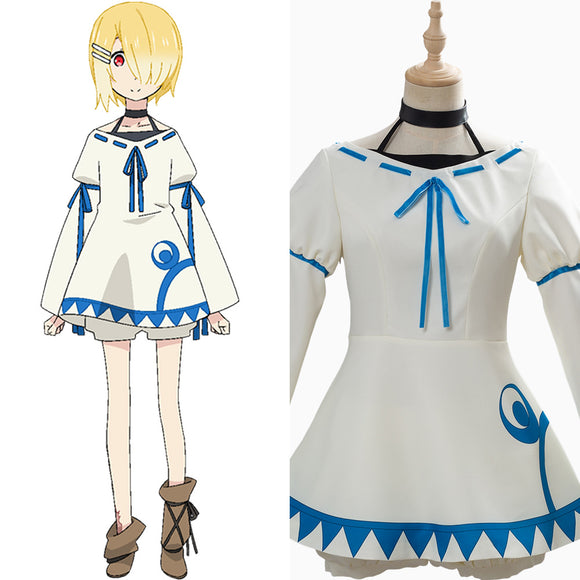 Maō-sama Retry Aku Robe Cosplay Costume