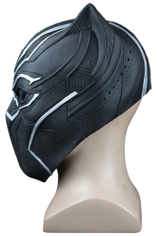 Marvel Avengers Civil War Black Panther/Panthère noire T'Challa Cosplay Masque