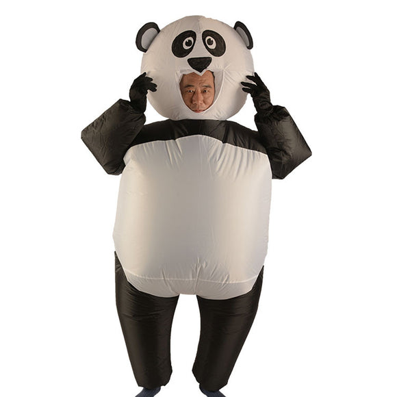 Panda Gonflable Costume Adulte Déguisement Panda Halloween Costume