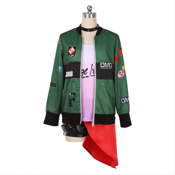 Persona 5 P5 Futaba Sakura Dancing Star Night Cosplay Costume
