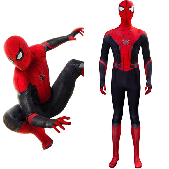 Spider-Man Far From Home Suit Spiderman Peter Parker Cosplay Costume