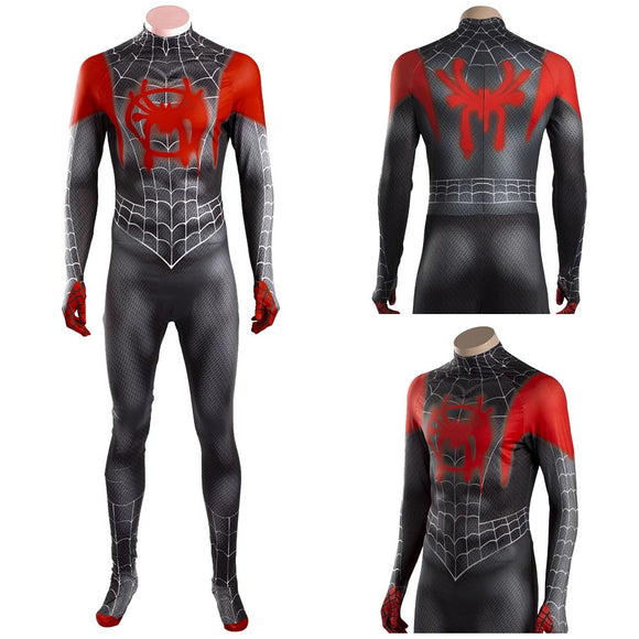 Spider-Man Into the Spider-Verse Spiderman Cosplay Costume Ver. 2