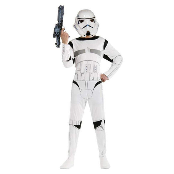 Star Wars Darth Sturmtruppen Stormtrooper Halloween Déguisement Enfant Cosplay Costume