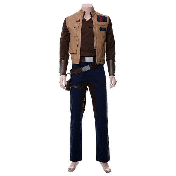 Star Wars IX L'Ascension de Skywalker Finn Cosplay Costume