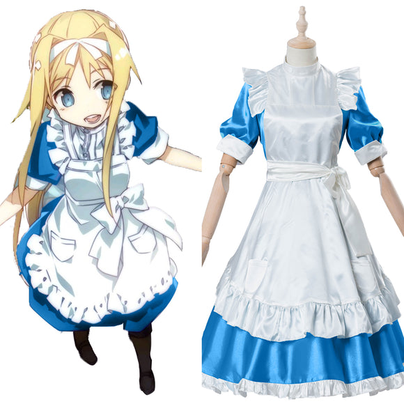 Sword Art Online Alicization Alice Robe Cosplay Costume